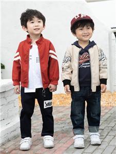 棉之子童装棉之子童装红色棒球衫