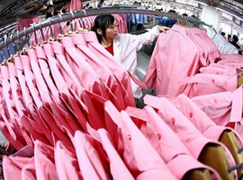 纺织品服装出口下降,加征关税影响显现