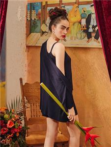 娜摩米内衣裙装两件套居家服