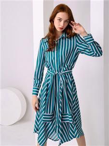 尚来女装尚来女装新款衬衫裙