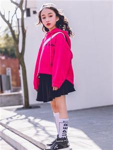 韩米娜秋冬新款韩版潮学生宽松卫衣