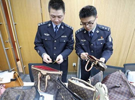 上海警方破获上亿元假奢侈品案 众多国际大牌躺枪