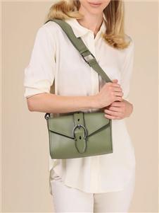 爱格纳绿色小背包