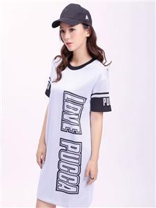 中国娃娃休闲运动连衣裙