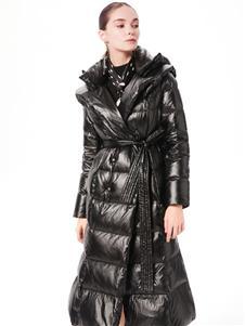 XIHOU西逅时尚长款羽绒服