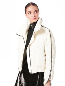 XIHOU西逅新款白色羽绒服