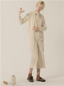 茶愫女装新款长款上衣