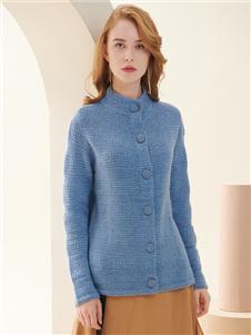 贝加尔女装毛衣外套