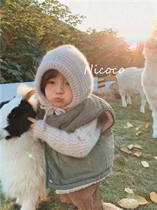 拉酷儿童装拉酷儿童装马甲棉服