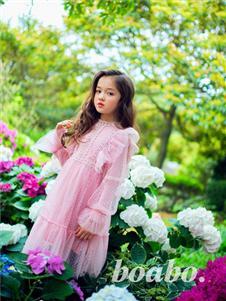 宝儿宝boabo童装粉色公主裙