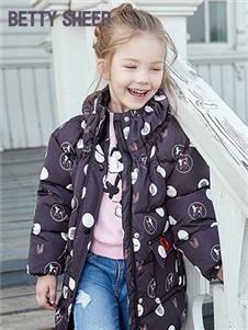 贝蒂小羊童装贝蒂小羊童装2019秋冬款轻薄保暖羽绒服