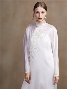 蓋婭傳說女裝2020春夏裝旗袍改良,連衣裙