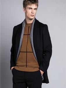 格度佐致2019黑色大衣