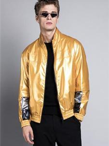 格度佐致2019金色亮面外套