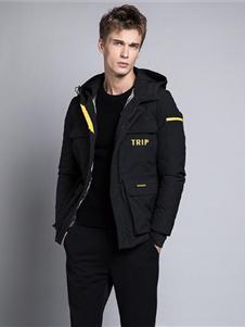 格度佐致2019黑色外套