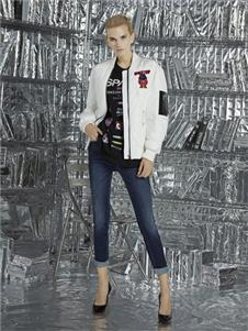 維斯提諾2019白色休閑外套