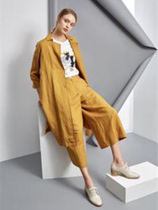 唯简尚2019春夏装黄色调整