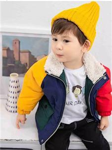 Timi Kids2019秋冬裝加絨外套