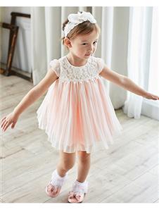 安妮公主2019粉色公主裙