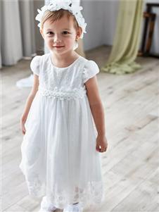 安妮公主2019白色公主裙