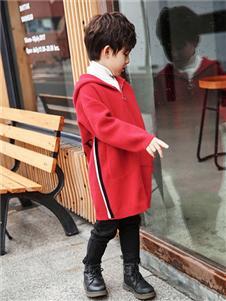 酷比小捍马新款红色外套