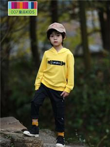 007童品童装007童品秋冬款黄色卫衣