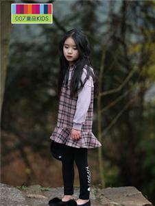 007童品童装007童品秋冬款格子连衣裙