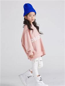 edo KIDS秋季粉色卫衣