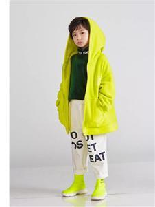 edo KIDS秋季绿色外套