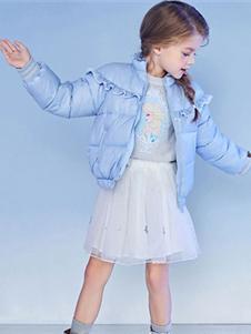 MiniPeace童装Mini Peace新款短款羽绒衣