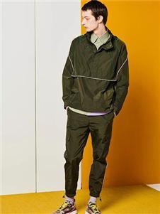 DEPOT3新款绿色套头外套