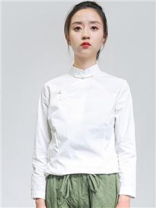 柒唐2019秋冬装复古上衣