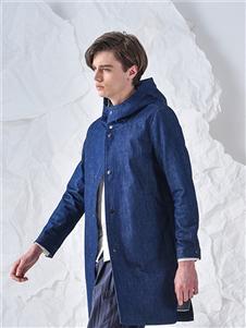 825ing秋冬装蓝色外套