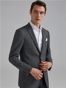 培罗蒙2019新款深灰色西装