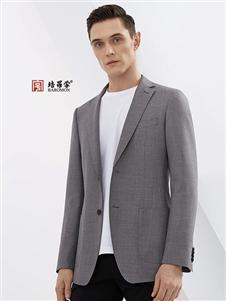 培罗蒙2019新款灰色西装
