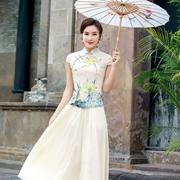 唐雅阁旗袍 深受国内外广大消费者的喜爱