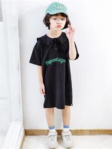 嗒囜黑色修身連衣裙