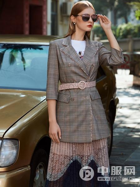 LEAGEL例格女装2020新款西服外套