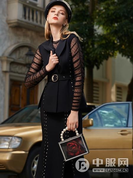 LEAGEL例格2020新款时尚套装裙