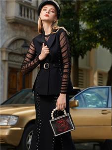 LEAGEL例格2020新款時尚套裝裙
