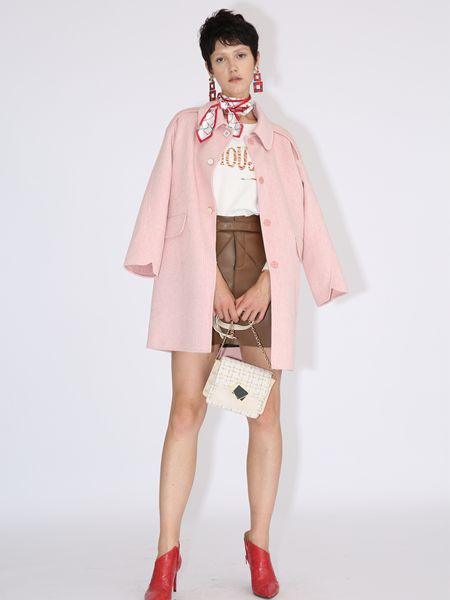 betu百图粉色外套