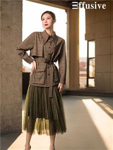 三弗2020春季新款紗裙
