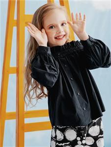 安米莉黑色衬衫