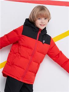 諾詩蘭紅色羽絨衣