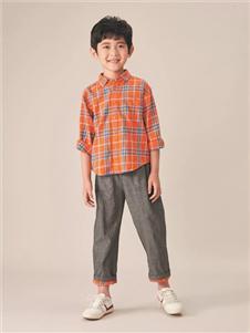 金果果灰色七分裤