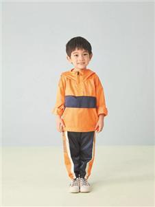 金果果橘色卫衣