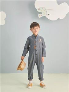 金果果灰色連體衣
