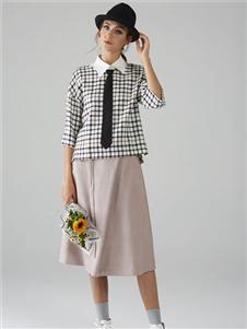 墨曲春季新款半身裙