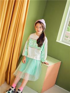 宝儿宝绿色套装