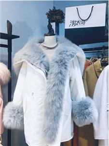 淘衣岛白色外套